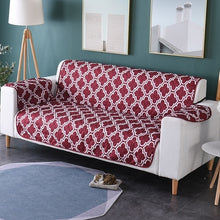 Load image into Gallery viewer, Printed Multicolor Pets Sofa Cover Anti-Skid Couch Cover Sofa Cushion Pet Dog Protector Mat Seats Slipcove