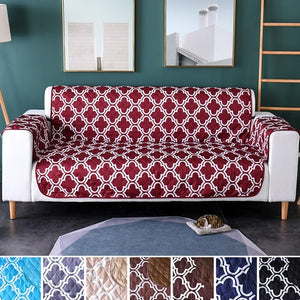 Printed Multicolor Pets Sofa Cover Anti-Skid Couch Cover Sofa Cushion Pet Dog Protector Mat Seats Slipcove