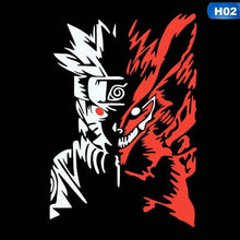 Load image into Gallery viewer, Reflective Naruto Jiuwei Fox Naruto Auto Sticker Cartoon Characters Nine Tail Fox