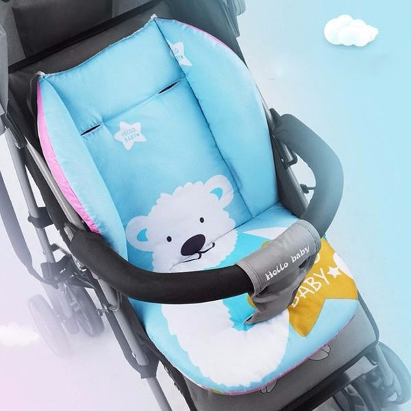 Universal Car Stroller Seat Covers Soft Thick Pram Cushion Car Seat Pad Covers XGH