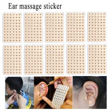 Load image into Gallery viewer, 600/1200pcs Acupuncture Needle Ear Seeds Vaccaria Seeds Ear Massage Stickers