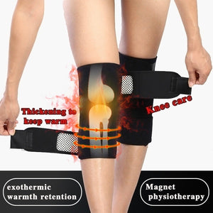 Magnetic Therapy Large Range Knee Protector Self Heating Knee Pads Knee Support Belt Knee Care