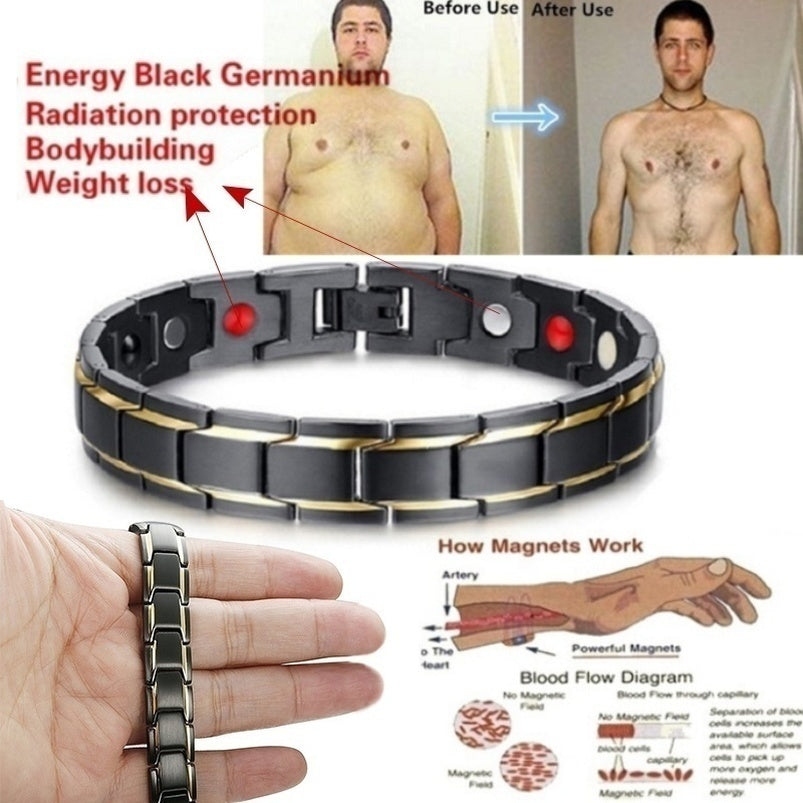 Magnetic Therapy Men's Health Anti-snoring Magnetic Therapy Bracelet Magnetic Therapy Treatment Snoring Sleep Better 1Pcs