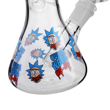 Load image into Gallery viewer, 14mm Joint 8 Types Colorful  Cartoon Sticker Glass Water Pipes 7.8 Inch Tall