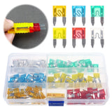 60pcs 5A 10A 15A 20A 25A 30A Middle Boat Truck Blade Car Fuse Kit The Fuse Insurance Insert The Insurance of Xenon Lamp Piece Lights Fuse
