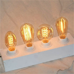 Led Bulb Retro Vintage Light Bulb 40W 220V E27 Base Decorative Led Edison Bulb