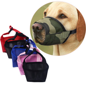Fashion Anti-Bite Durable Adjustable Training Pet Accessories Head Collar Halter Puppy Mouth Control Dog Safety Muzzle