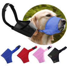 Load image into Gallery viewer, Fashion Anti-Bite Durable Adjustable Training Pet Accessories Head Collar Halter Puppy Mouth Control Dog Safety Muzzle