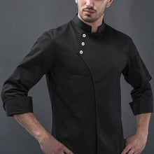 Load image into Gallery viewer, 2020 Unisex Women Mens Long Sleeve Buttons Chef Jacket Uniforms S-5XL 3 Colors