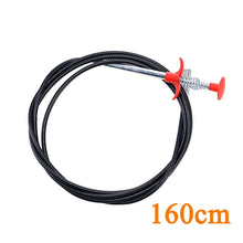 Load image into Gallery viewer, 60/90/160cm Multifunctional Cleaning Claw Kitchen Bathroom Pipe Dredge Cleaning Tool Flexible Pipe Dredge