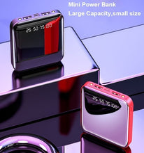 Load image into Gallery viewer, 2020 Power Bank External Battery Charger Digital Power Bank Dual USB Charger Power Bank
