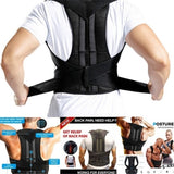 Adult Back Fixing Strap Form Correction Belt Support Steel Plate