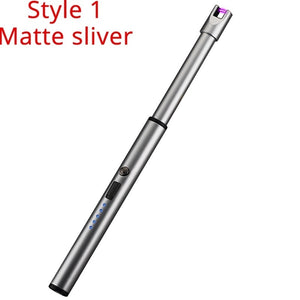 New Windproof Flameless Arc Plasma Lighter Thin Electric Cigarette Lighters Rechargeable Usb Lighter Gadgets For Men