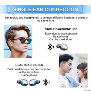 F9-8 Sports Fashion Binaural Noise Cancelling Headphones (5000/8000mah) style carry