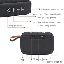 Load image into Gallery viewer, Portable Wireless Stereo Hanging Bluetooth Speaker Card Music Player