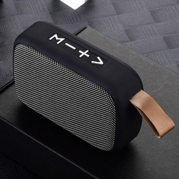 Portable Wireless Stereo Hanging Bluetooth Speaker Card Music Player