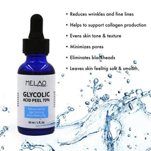 Load image into Gallery viewer, 30ml Glycolic Acid Serum Rejuvenating Age Defying Pore Reducing Moisturizing Face Serum