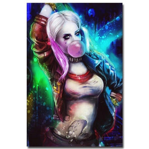 5d Diy Diamond Painting Wall Decoration Handmade Cross Stitch Harley Quinn Picture Full Drill Embroidery