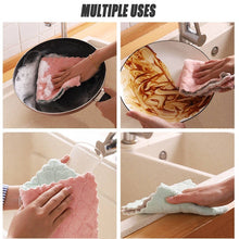 Load image into Gallery viewer, 3/10pcs Home Microfiber Towels for Kitchen Absorbent Thicker Cloth for Cleaning Micro Fiber Wipe Table Kitchen Towel
