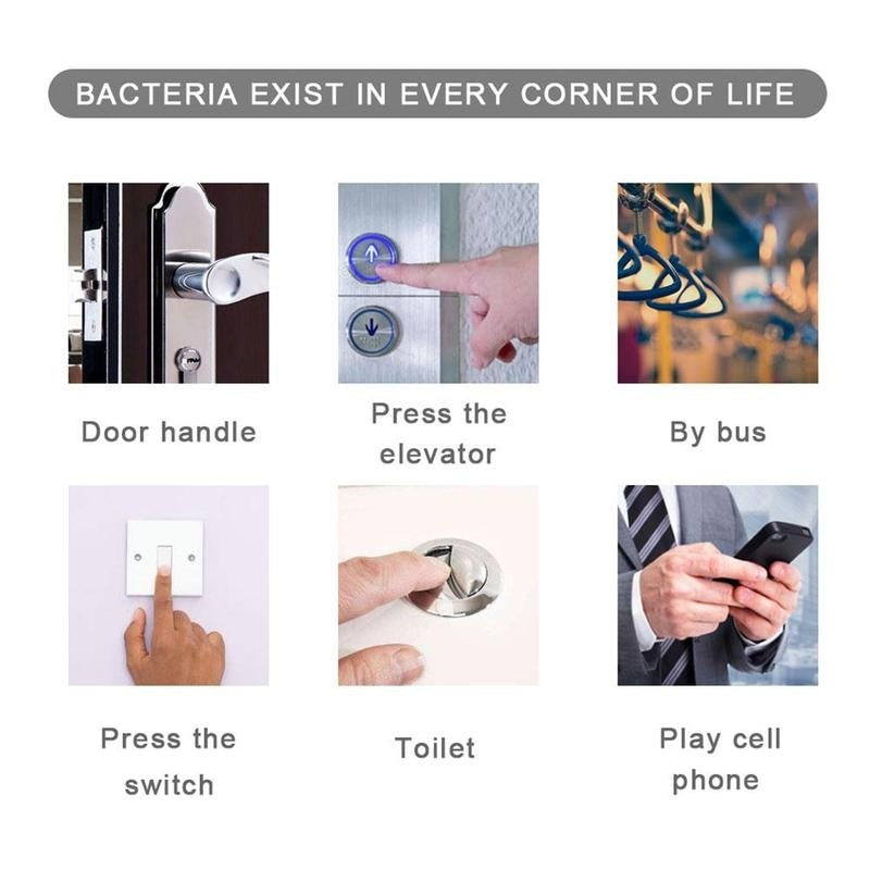 Home Portable Hand Sanitizer Disposable Hands-Free Water Disinfection Spray