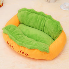 Load image into Gallery viewer, Hot Dog Bed For Various Sizes Dog Removable And Washable Soft PP Cotton Pet Dog Puppy Warm Pet Bed