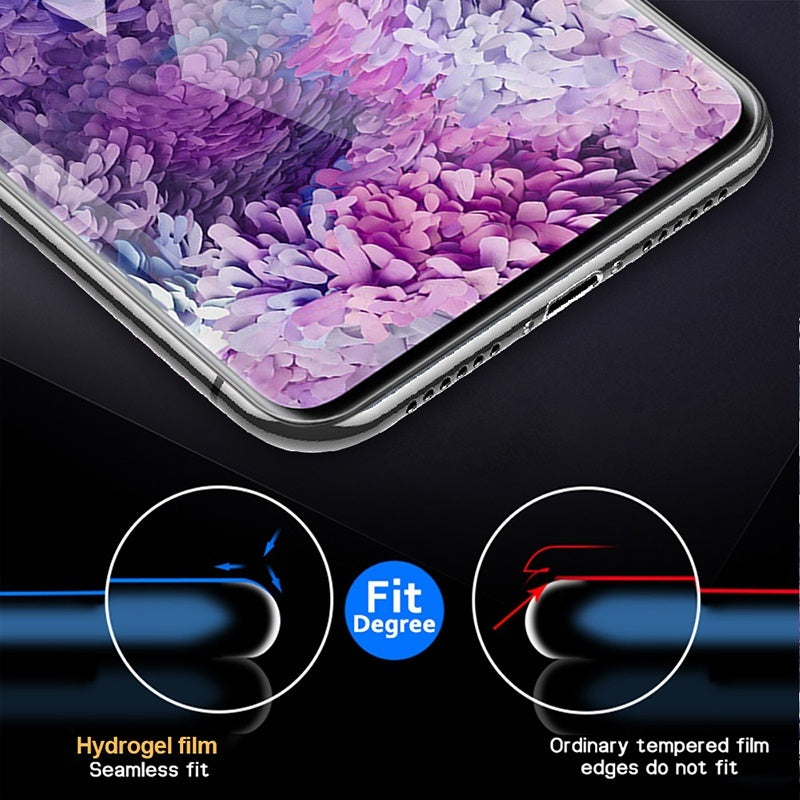 1/2Pcs 900D Curved Hydrogel Film for Samsung S20 Plus S20 Ultra Screen Protector Samsung Note 10 Plus Note 9 Note 8 S8 S9 S10 Plus S10E