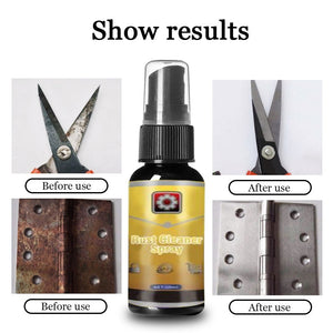 Rust Inhibitor Rust Remover Derusting Spray Car Maintenance Cleaning Accessories Multifunctional Antirust Agent for Kitchen Car Rust Remover Car Maintenance