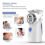 2020 New Nebulizer Ultrasonic Atomization Portable Handheld Children's Compression Atomizer Adult Phlegm and Cough