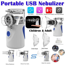 Load image into Gallery viewer, 2020 New Nebulizer Ultrasonic Atomization Portable Handheld Children's Compression Atomizer Adult Phlegm and Cough