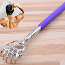 Load image into Gallery viewer, Extendable Handle Stainless Steel Scratcher Bear Claw Back Itching Tickling Healthy Tool