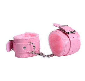 Sexy Adjustable Furry Handcuffs Plush Handcuff Ankle Cuff Restraints Bondage Sex Toy Restraints Sex Bondage Exotic Accessories