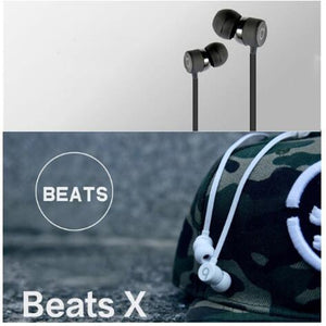 Refurbished Beats By Dr. Dre Beats X Wireless Earbuds Bluetooth In-Ear Earphones Wireless Headphones Sport Stereo Headset Audifonos