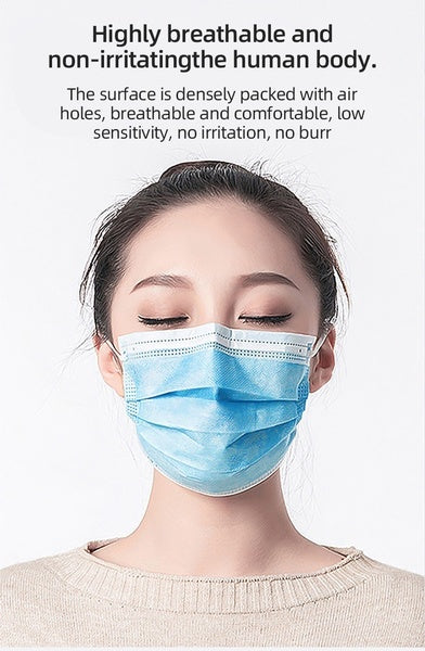 20pcs/50pcs Non-medical Masks Disposable Masks Dust-proof Anti-virus Civilian Masks High-efficiency Anti-fog