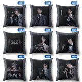 9 Styles Kpop Bts Map Of The Soul 7 Cool Printed 3D Pillow Case Throw Pillows Pillowcase Covers Cushion Cover 45Cm*45Cm Pillow Slip(No Inner)