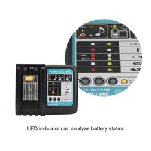 Load image into Gallery viewer, Rapid Battery Charger for Makita BL1830 BL1840 BL1850 BL1860 7.2V-18V 3A Plug