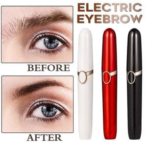 1 PC Electric Eyebrow Trimmer Makeup Painless Eye Brow Epilator Mini Shaver Razors Portable Facial Hair Remover