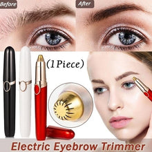 Load image into Gallery viewer, 1 PC Electric Eyebrow Trimmer Makeup Painless Eye Brow Epilator Mini Shaver Razors Portable Facial Hair Remover