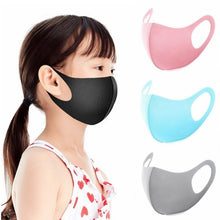 Load image into Gallery viewer, 1 Pcs 3D Ultra-thin Breathable Dustproof Mouth Mask Anti-Dust Haze Pm2.5 Flu Allergy Protection Face Masks Gauze Mask (Adult/Kid)