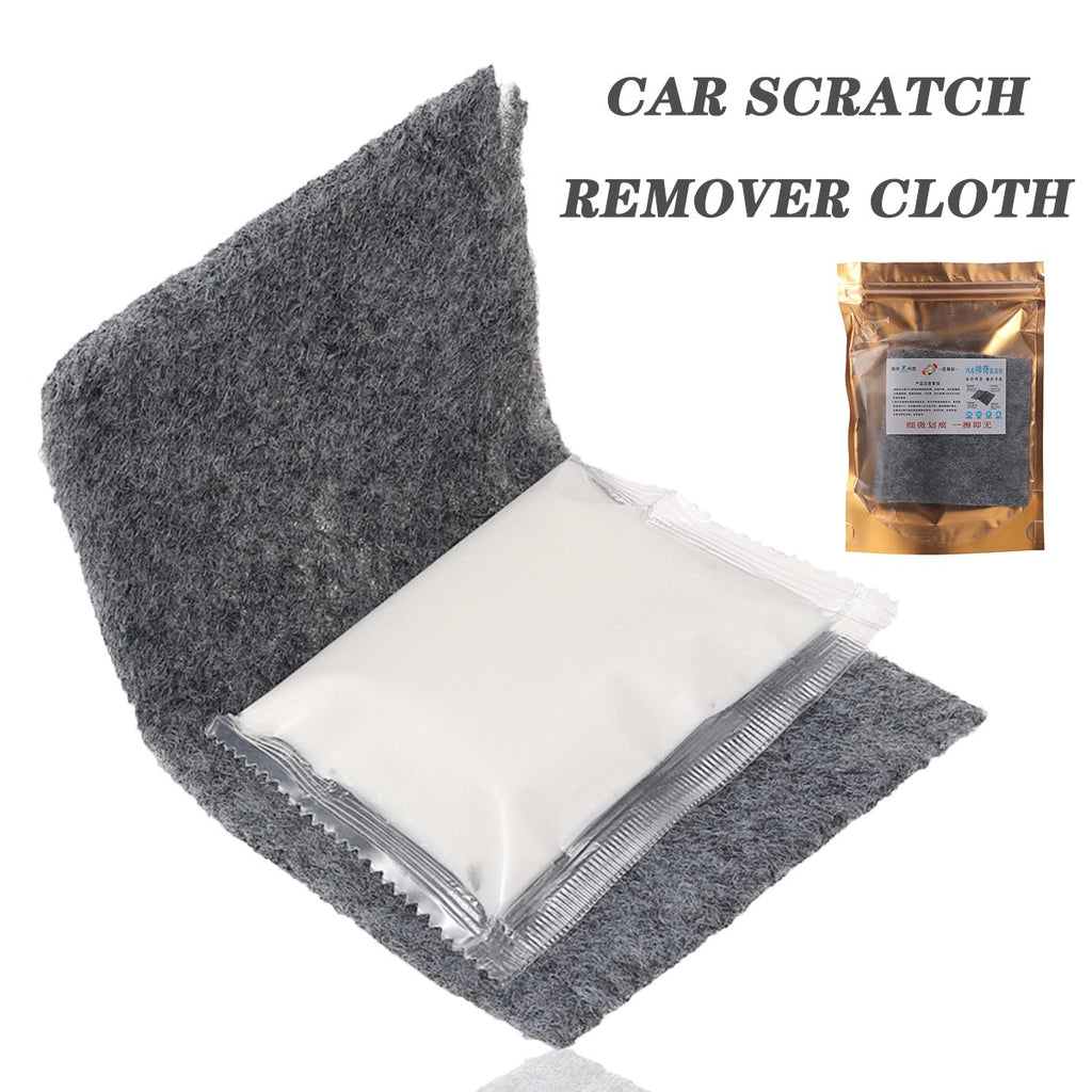 New 1PC Car Scratch Eraser Remover Magic Polish Nano Cloth Paint Scuffs Surface Repair