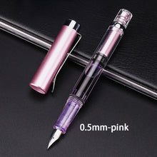 Load image into Gallery viewer, 1 Pcs Fashion Color Gradient Fountain Pen Calligraphy Adjuster Pen Gift Fountain Pen Stationary Office Writing Pen