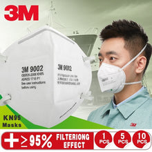 Load image into Gallery viewer, 3M 1/5/10Pcs KN95 Anti-fog, Dust-proof, Dust-proof, Breathable and PM2.5 Disposable Masks for Men and Women 1:1 Refurbished