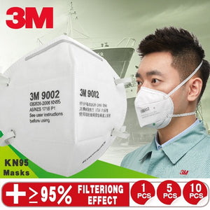 3M 1/5/10Pcs KN95 Anti-fog, Dust-proof, Dust-proof, Breathable and PM2.5 Disposable Masks for Men and Women 1:1 Refurbished