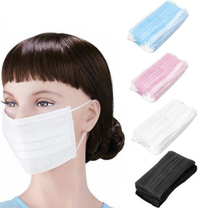 5/10/15/20 Pcs Elastic Ear Loop Disposable Medical Dustproof Surgical Face Mouth Masks Ear Loop