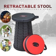 Load image into Gallery viewer, NEW  Portable Telescoping Stool Retractable Folding Garden Camping Stools Seat for Fishing Hiking Traveling Outdoor Activities