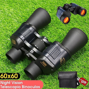 60x60 3000M Waterproof High Power HD Night Vision Hunting Binoculars Telescope Monoculars