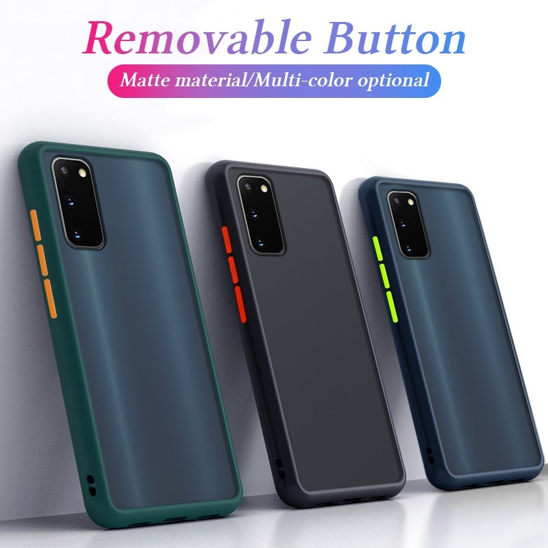 For Samsung Galaxy S20 Ultra S20 Plus Soft Silicone Edge PC Back Cover Phone Case For Samsung Galaxy S20 S10 S9 S8 Plus A51 A71 A70 A50 A10 Note 10 9 8 Huawei P30 P20 Mate20 Mate30 Lite iPhone 11 Pro XS MAX etc Case