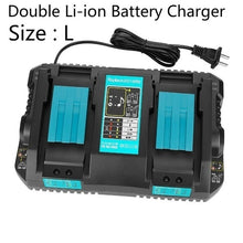Load image into Gallery viewer, Makita 14.4V / 18V Current Indicator USB Connection DC18RC Multi-functional Double/Single Li-ion Battery Charger