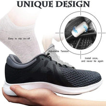 Load image into Gallery viewer, 1Pair/Set No Tie Shoelaces Elastic Locking Round Shoe Laces Kids Adult Sneakers Shoelaces Lazy Quick Shoe Lace Strings
