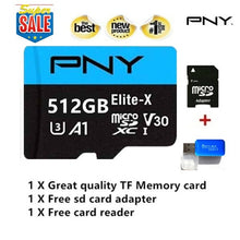 Load image into Gallery viewer, 2020 new high-speed USB drive Micro SD Micro SDHC Micro SD SDHC card 10 UHS-1 TF memory card + card reader