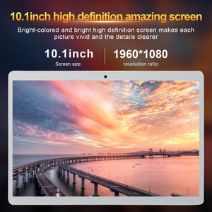 10.1 Inch 8GB+512GB Tablet MT6797 4G Dual SIM Card Phone Pad  4G Call Wifi Tablets PC Pad